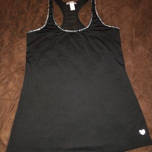 Tops - Forever 21 gym tank netted back